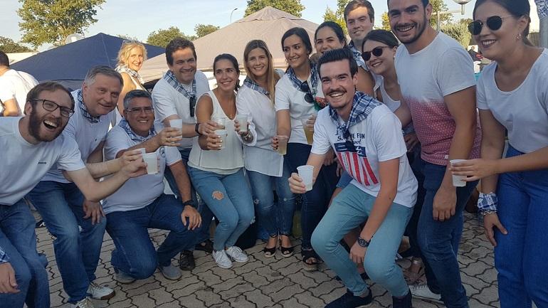 Carolina Agudo visita Ciudad Real y participa en los actos previos a la Pandorga