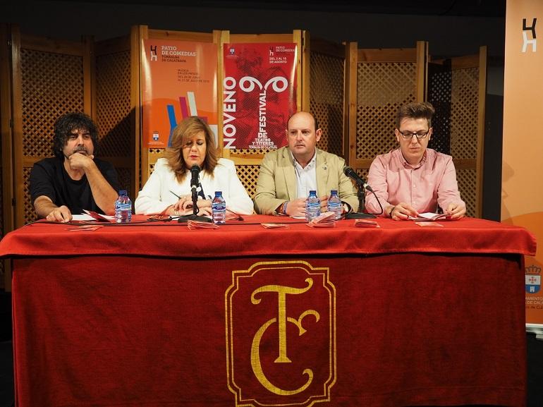 Compañías de primer nivel y reconocidas obras teatrales, en el 9º Festival de Teatro y Títeres de Torralba de Calatrava