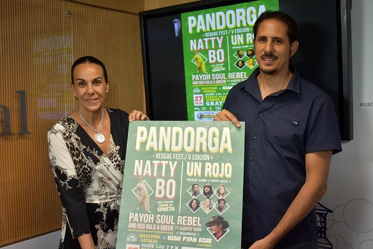 El V Pandorga Reggae Fest se hace internacional con las actuaciones de Natty Bo y Un Rojo Reggae