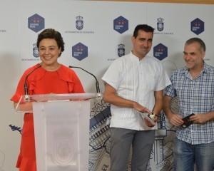 Pilar Zamora presenta el I Ciclo Internacional Teatro en la Plaza