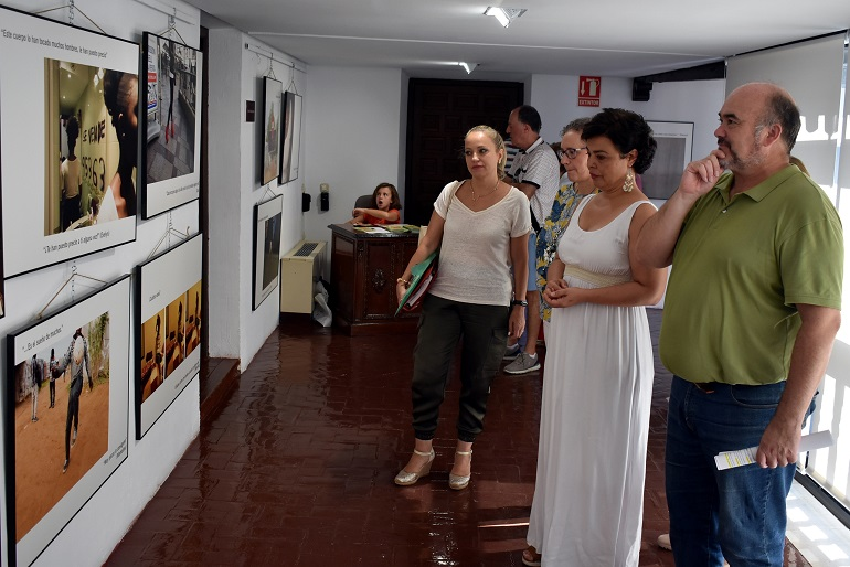 Ciudad Real El Museo Lopez-Villaseñor acoge una exposición fotográfica sobre la trata de seres humanos