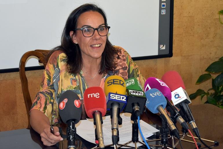 Ciudad Real Eva María Masías valora la normalidad y la alta participación en las actividades de la Feria y Fiestas