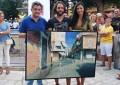 Daimiel: Javier Martín Aranda vuelve a ganar el Certamen de Pintura Rápida 'Tablas de Daimiel'