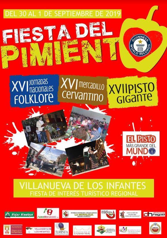 Fiesta del Pimiento Villanueva de los Infantes 2019