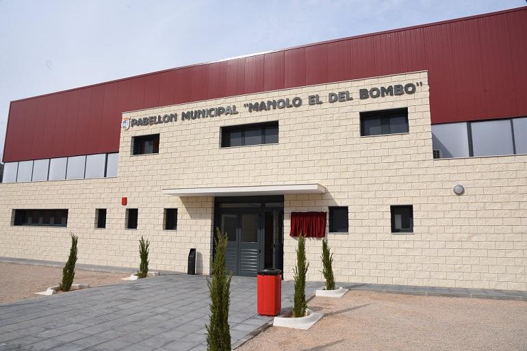 Pabellón Municipal Manolo el del Bombo en San Carlos del Valle