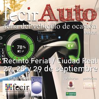 fecirAUTO Feria del vehículo de ocasión 2019 - Recinto Ferial CReal 27, 28 y 29 septiembre