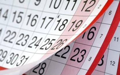 Calendario laboral para el 2020 en Castilla La Mancha