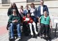 Ciudad Real: La Diputación Provincial hace entrega de su colaboración a la Asociación Ciudad Accesible