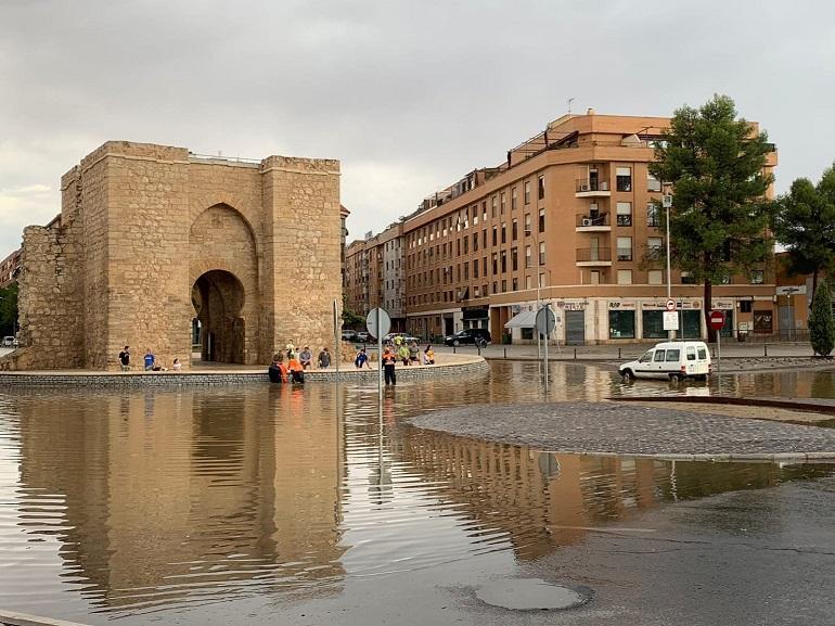 Ciudad Real recupera la normalidad tras la tromba de agua y granizo que sufrió ayer tarde