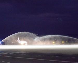 """El Aeropuerto de Ciudad Real se reinaugura con la llegada del primer avión de la nueva era """"CRIA"""""""