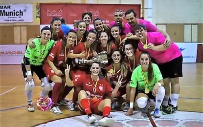 El Almagro FSF gana con solvencia el Trofeo Diputación 2019 de Fútbol Sala Femenino