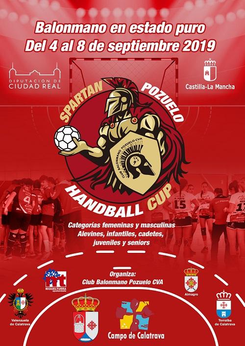 Spartan Pozuelo Handball Cup Pozuelo de Calatrava del 4 al 8 septiembre 2019