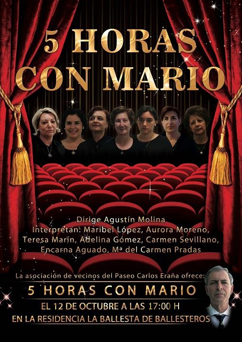 Cartel Teatro La Ballesta de Ballesteros de Calatrava