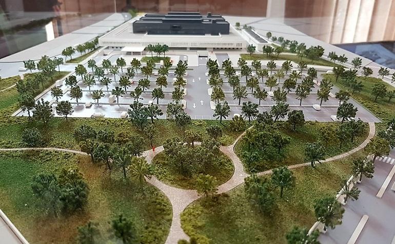 Comienzan los trabajos para el estudio geotécnico en los terrenos del nuevo hospital de Puertollano necesarios para la cimentación