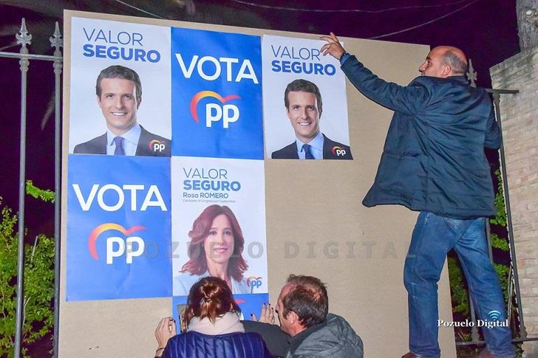 El PP eliminará toda publicidad exterior durante la campaña electoral del 10N