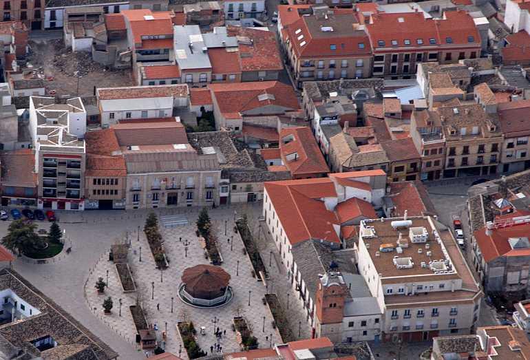 Plaza del Ayuntamiento de Villarrubia de los Ojos