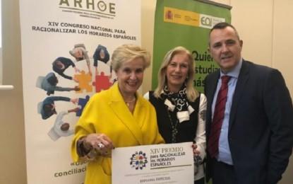 Carmen Quintanilla reconocida por ARHOE