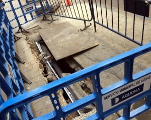 Ciudad Real: Cortes de tráfico con motivo de las obras de renovación de la red de abastecimiento en la calle Calatrava