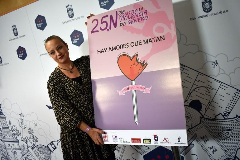 Ciudad Real organiza diversas actividades culturales y de sensibilización con motivo del 25 de noviembre