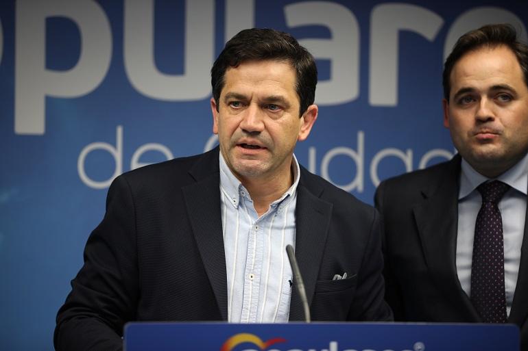 """Valverde defiende las enmiendas """"realistas y necesarias"""" del PP frente al """"abandono"""" de Page a la provincia de Ciudad Real"""