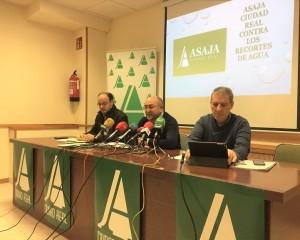 ASAJA convoca a los agricultores de Ciudad Real a la concentración del 12 de diciembre en la CHG contra los posibles recortes de agua