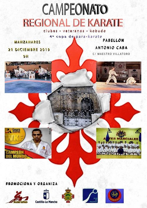 Campeonato Regional de Karate en Manzanares