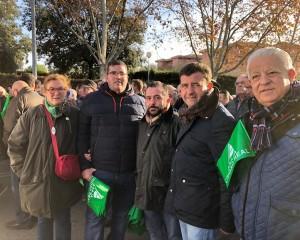 Ciudad Real: VOX se manifiesta contra los recortes de agua