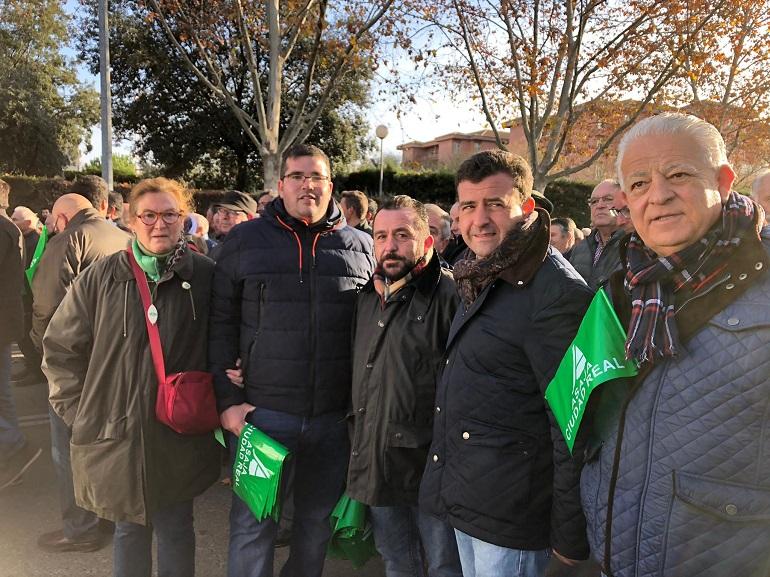Ciudad Real VOX se manifiesta contra los recortes de agua
