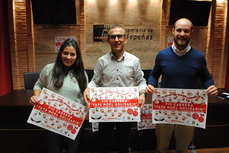 La 'VIII Carrera Papá Noel Solidario' tendrá lugar este domingo en Valdepeñas