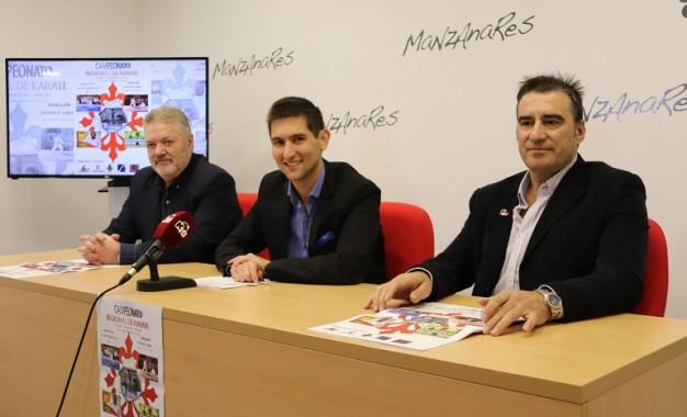 Manzanares presentó el Campeonato Regional de Kárate