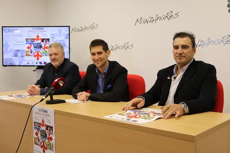 Presentación del Campeonato Regional de Karate en Manzanares