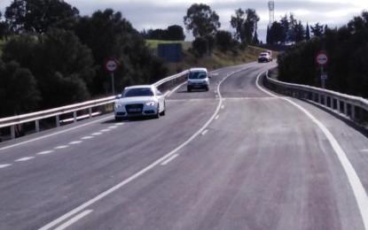 Reestablecido el tráfico en la carretera que une Saceruela con Almadén