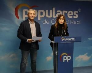 Romero y Callejas defenderán los intereses de Ciudad Real y de España frente a un Pedro Sánchez entregado a Podemos y los independentistas