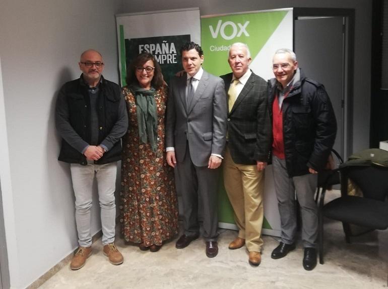 Vox Ciudad Real presentó la nueva gestora a los afiliados de la provincia