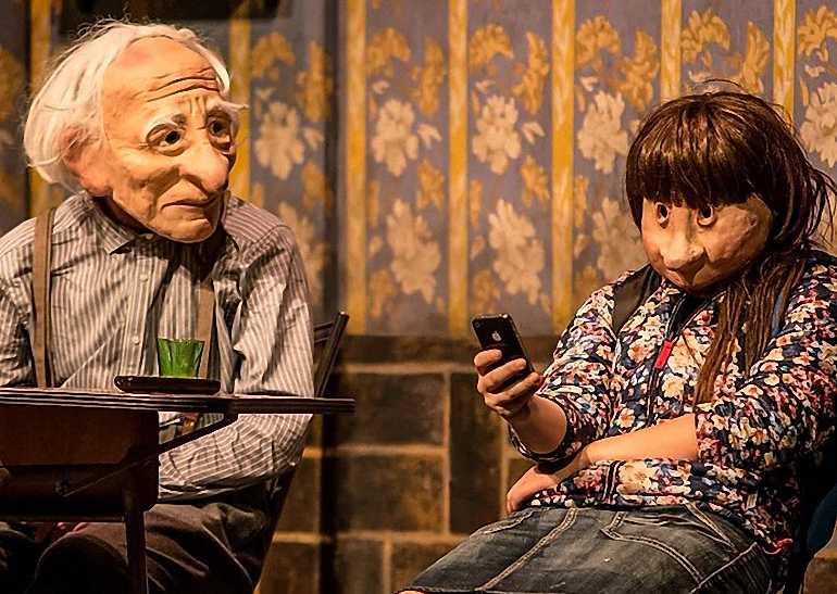 """Ciudad Real Kulunka Teatro aborda la soledad e incomunicación en las familias con """"Solitudes"""" en el Teatro Quijano"""