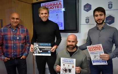Ciudad Real acoge este fin de semana el  II Torneo Nacional de Esgrima en silla de ruedas