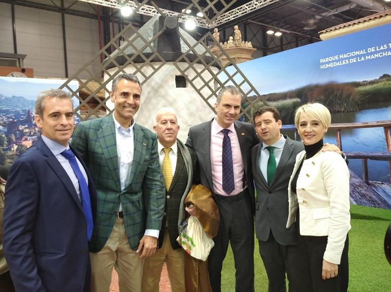 Los diputados nacionales de VOX de Ciudad Real, Toledo y Albacete en apoyo del turísmo de Castilla La Mancha
