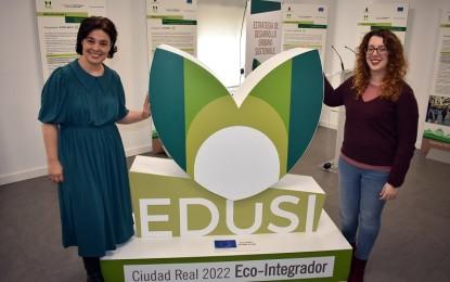 La Casa de la Ciudad acoge una exposición sobre  las actuaciones de la EDUSI Ciudad Real 2022