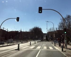 Ciudad Real: Todos los pasos de peatones de la Ronda  ya cuentan con regulación semafórica