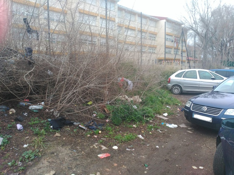 Unidas Podemos Ciudad Real denuncia el fracaso en materia de limpieza del equipo de gobierno de Cs y PSOE