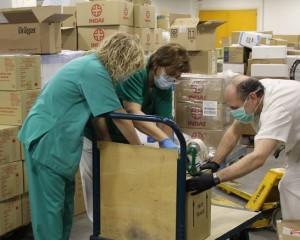 La Junta envía material sanitario a las seis gerencias del SESCAM en Ciudad Real
