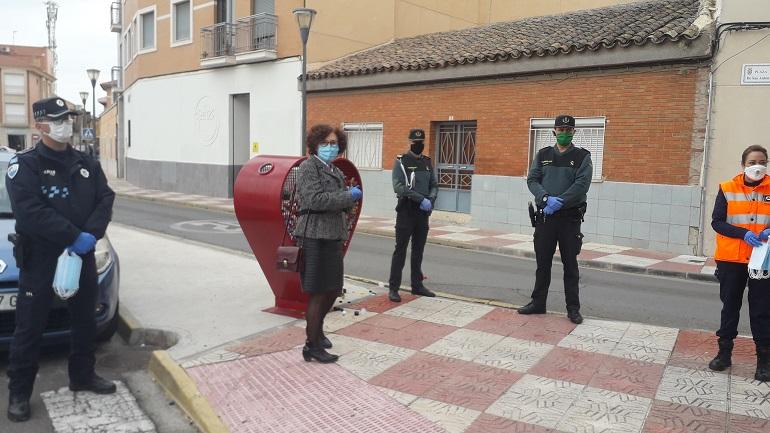 Comienzan a repartirse en la provincia de Ciudad Real las 106.000 mascarillas que el Gobierno de España adquirió para desplazamientos al trabajo