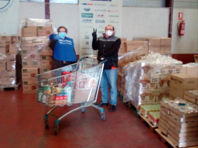 El Banco de Alimentos de Ciudad Real reparte más de 6.000 kg de productos entre los más necesitados y se queda casi sin recursos