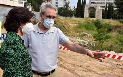 Ciudad Real: Comienzan las obras de adecuación del entorno  del Arco del Torreón del Alcázar
