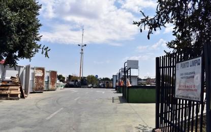 Ciudad Real reactiva el Punto Limpio de Larache bajo sistema de cita previa telefónica