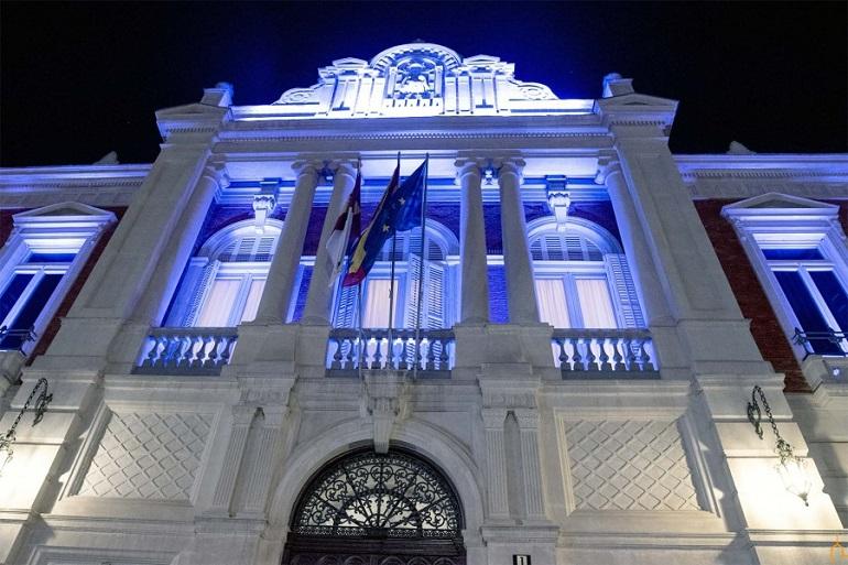 La Diputación Provincial de Ciudad Real se vestirá de azul en homenaje a los sanitarios en el Día Internacional de la Enfermería