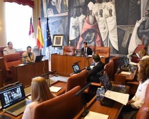 La Diputación de Ciudad Real aprueba una modificación de crédito de 4 millones de euros para la realización de nuevas obras por parte de los ayuntamientos de la provincia
