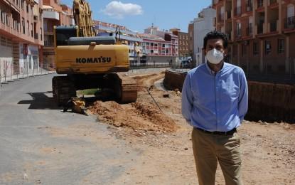 Valdepeñas: Las obras del cubrimiento del canal se prevé que concluyan en el primer trimestre de 2021
