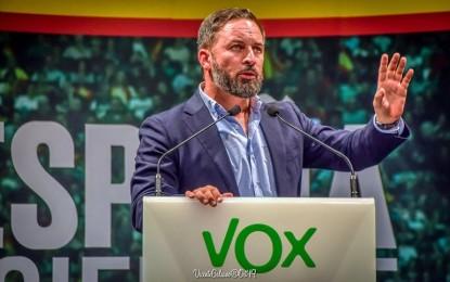Vox convoca manisfestaciones en todas las capitales de provincia para el día 23 de mayo