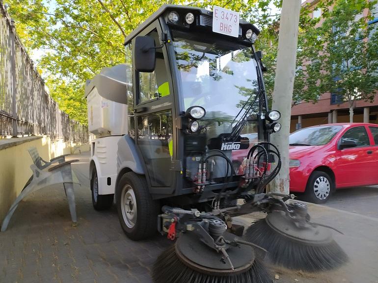 Ciudad Real incorpora tres nuevas barredoras para reforzar la limpieza en la ciudad